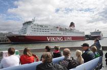 Helsinki, Hafenrundfahrt
