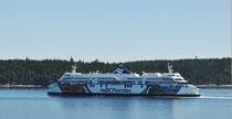 Mit der Fähr nach Vancouver  Island