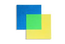 Zes vormen, 2012, 104 x 104cm, acryl op shaped canvas