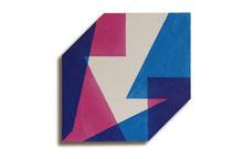 Fuga 3, 2013, 72 x 72 cm, acryl op shaped canvas.