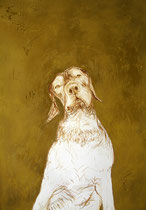 Moritz . 100 x 70 cm . Pastel & Charcoal On Paper