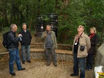 Thomas WAMPULA bei seiner Führung im Tiergarten Schönbrunn.