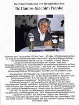 Dr. Hanns-Joachim Franke