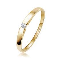 Spannring mit Brillant 0,03 ct. Gold 585/000 LB125 Preis: 239,- €