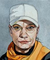 Porträt D. 110x120 cm