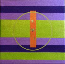 Mandala - Acrylique sur toile (20x20cm - 40€) - © B. Dupuis