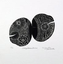 complementarios  Xilografía contrafibra 2015