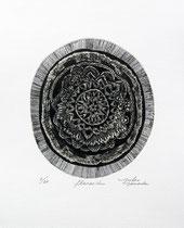 floración  Xilografía contrafibra 2015