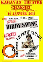 Carte Blanche - Karavan Théâtre - 14/01/2011
