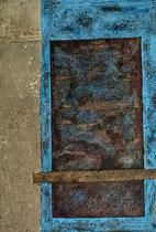 Porte du Vieux Panier 1  Acrylique sur toile 35x55cm 2016