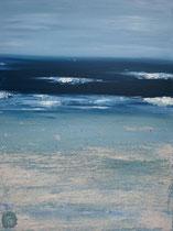 Ambiance océane 20 Mixte sur toile 60x80cm 2017