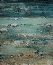 Ambiance océane 18 Mixte sur toile 38x46cm 2017