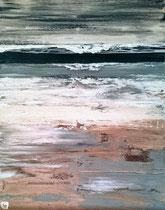 Ambiance océane 11 Mixte sur toile 70x90cm 2017