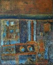 Porte du Vieux Panier 4  Acrylique sur toile 50x60cm 2016