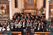 12. Dezember 2009, grosses Adventskonzert mit Musikgesellschaft Giswil