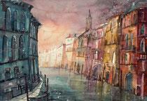 Venedig Canale  Grande  45.5 x 61