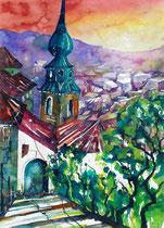 Salzburg st Johann  46 x 61