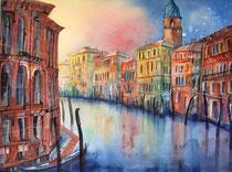 Venedig Morgenstimmung 56 x 76