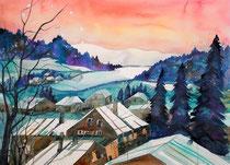 Winterlanschaft Worblental   56 x 76