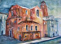 Aquarell Venedig   56 x 76