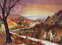 Worblental im Herbst   56 x 76