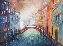 Venedig im Morgenlicht  30 x 40