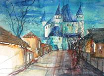 Schloss Thun 2  45.5 x 61