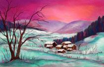 Winter im Gürbetal 2013
