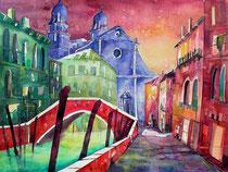 Venedig San Sebastiano3   56 x 76