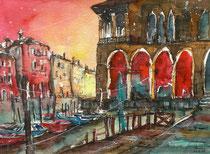 Venedig, Pescheria  48 x 56