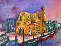Venedig Chiesa San Martino  50 x 65