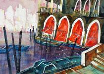 Venedig Pescheria   56 x 76