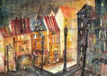 Strassburg  Place Kleber   45.5 x 61