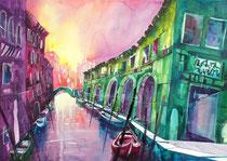 Venedig Rio Santa Maddalena   56 x 76