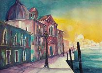 Venedig Zitelle Giudecca   56 x 76