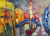 Venedig Rio di San Lorenzo   56 x 76