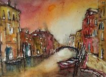 Abendlicht in Venedig  30 x 40