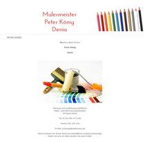 malermeisterkoenig-denia.jimdo.com, kostenlose Web-Visitenkarte