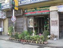 コルカタにある花屋さん。ちょっとかわいいお店でした。