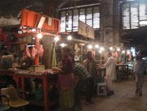 コルカタの牛肉市場。