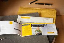 Scheckheftmailing | Deutsche Post AG | Auftraggeber: Borges & Partner GmbH