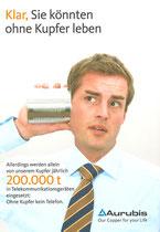 Anzeigenkampagne AURUBIS