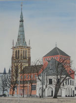 St. Lambertus mit altem Rathaus Erkelenz