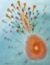 Blumenexplosion