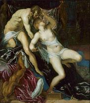 Jacopo Tintoretto, Tarquin und Lukrezia,Chicago Art.Institute