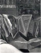 Domenico Tintoretto idem, Detail des Virginals