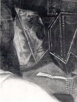Jacopo Tintoretto Zürich, Detail des Virginals
