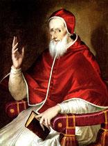 El Greco und Bottega Bildnis Pius V