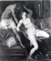 Jacopo Tintoretto, Tarquin und Lukrezia II: nach Firnisabnahme