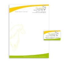Logoüberarbeitung und Geschäftsausstattung für Reitschule (2014)